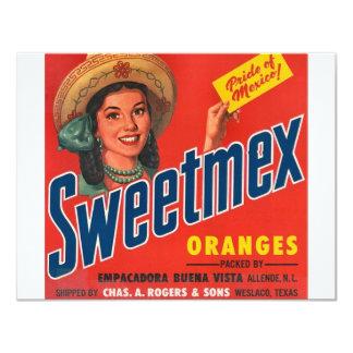 Sweetmex Convite 10.79 X 13.97cm