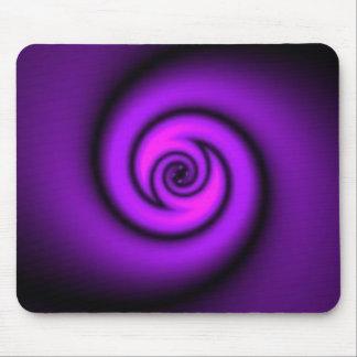 swirly roxo mouse pad