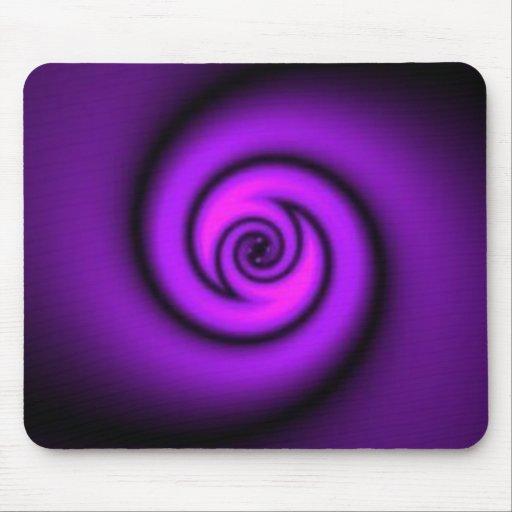 swirly roxo mousepad