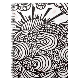 swirlysun caderno