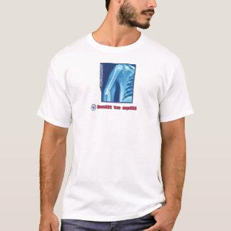 Swoozle rebentou o t-shirt básico dos homens camiseta