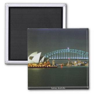 Sydney, Austrália Ímã Quadrado