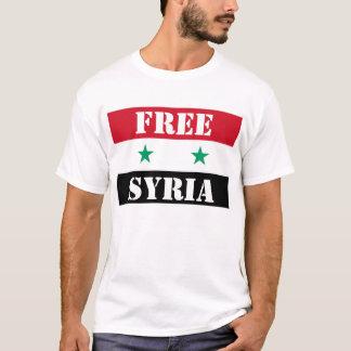 SYRIA LIVRE CAMISETA