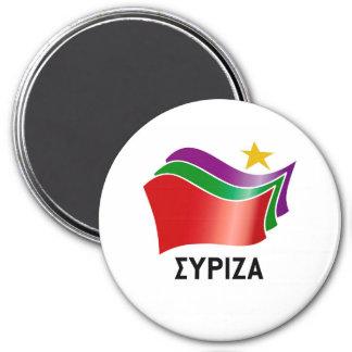 SYRIZA ÍMÃ REDONDO 7.62CM