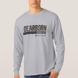 T 1982 do LS do atletismo de Dearborn T-shirts