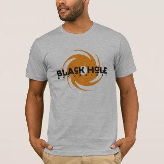 T alaranjado do logotipo das gravações do buraco camiseta