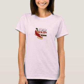 T anual da reunião do rosa das senhoras ó camiseta