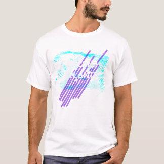 T atlântico do esboço do inferno camiseta