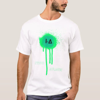 T atlântico do pulverizador do inferno camiseta