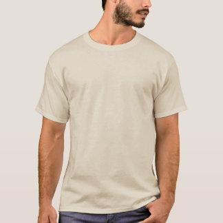 T básico da parte traseira do cheio da trilha do tshirt