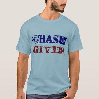 T básico dado perseguição camiseta