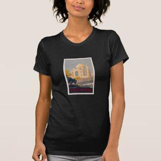 T básico das senhoras de Taj Mahal Tshirt
