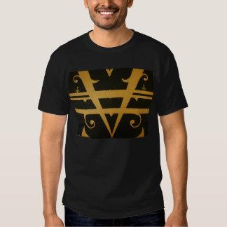 T-camisa da forma da arte abstracta t-shirts