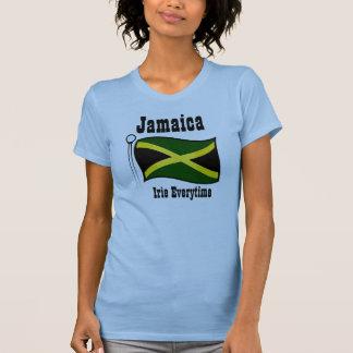 T-camisas-irie de Jamaica todas as vezes Camiseta