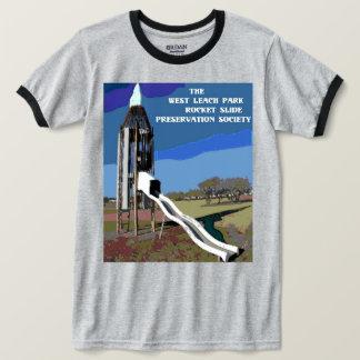 T clássico da corrediça de Rocket Camiseta