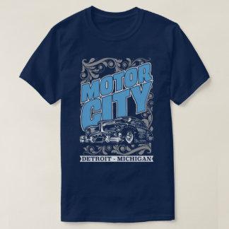 T clássico dos EUA dos carros de Detroit Michigan Camiseta