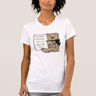 """T comemorativo do urso de Kennedy do """"URSINHO"""" T-shirt"""