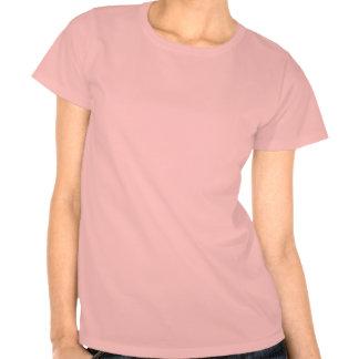 T cor-de-rosa das senhoras de Dangerzone Pitbulls T-shirt