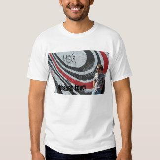 T da cidade do alfabeto tshirts