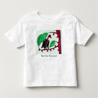 T da criança do Buzzard de Bentley T-shirt
