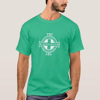 T da crista do futebol de Irlanda do Norte Camiseta