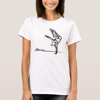 T da dança de Hip Hop (cabido) Camiseta