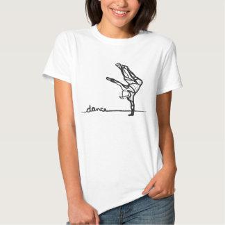 T da dança de Hip Hop (cabido) Tshirts