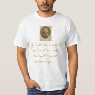 T da declaração de Jefferson Camisetas