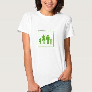 T da etiqueta da família - motociclista tshirt