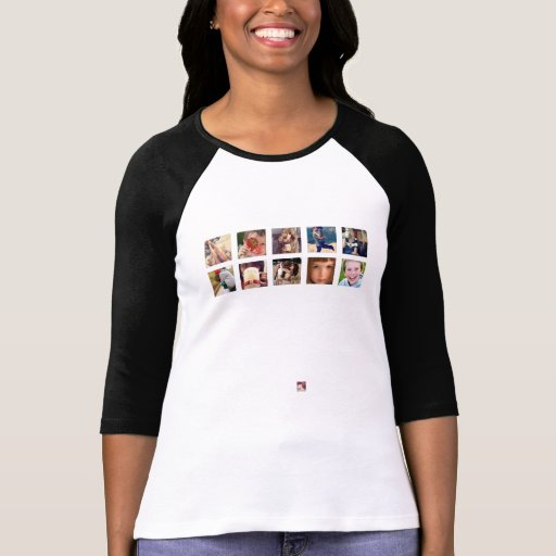T da foto do instagram camisetas