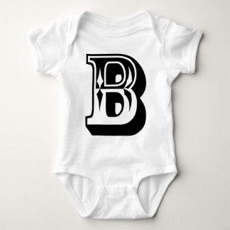 """T da letra do alfabeto de """"B"""" Camiseta"""