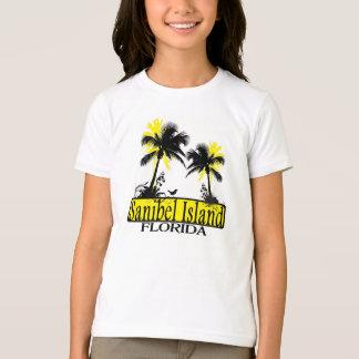 T da palmeira das meninas de Florida da ilha de Camiseta