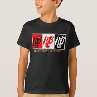 T da plataforma do solteiro do comportamento do camiseta