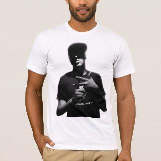 T da silhueta de Pavillion do fluxo Camiseta
