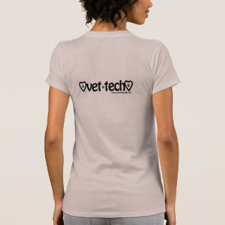 T da tecnologia do veterinário camiseta