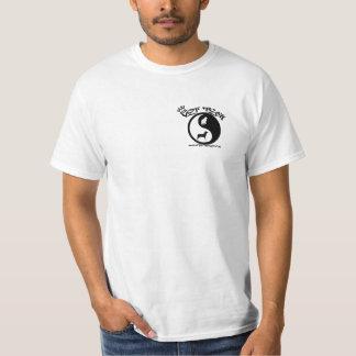 T da tecnologia do veterinário para os homens camisetas