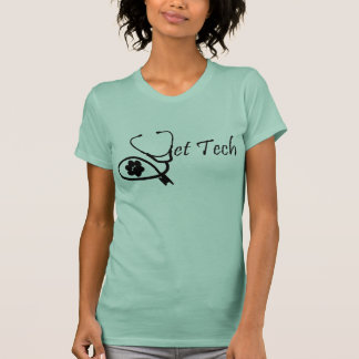 T da tecnologia do veterinário camisetas