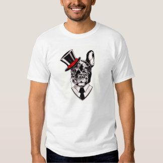 T Dapper do buldogue francês Camiseta