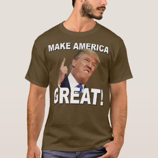 T das armas nucleares do trunfo camiseta