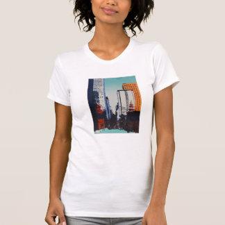 T das belas artes com arquitectura da cidade de camiseta