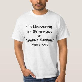 T das citações de Michio Kaku Camiseta