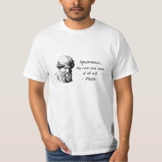 T das citações de Plato Camiseta