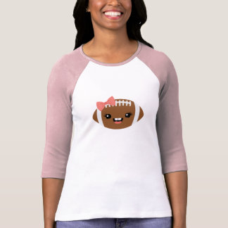 T de futebol feminino bonito camiseta