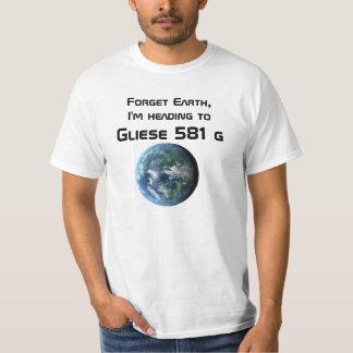 T de Gliese 581 g Camiseta