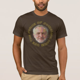 T de Jeremy Corbyn, cor de Jedi Camiseta