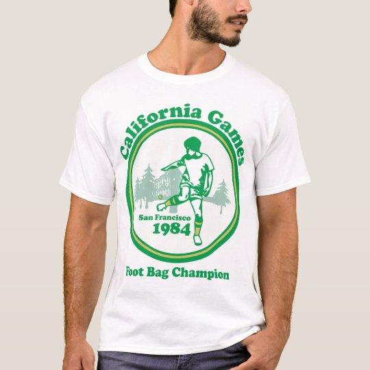 T de Melang dos jogos de Califórnia Camiseta