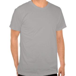 T de prata do logotipo do coração de InstaDogWalk  Camiseta