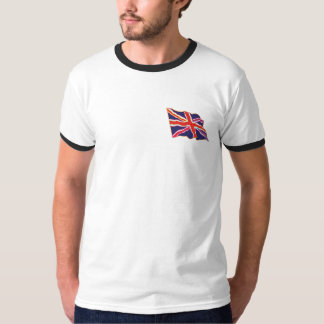 T de Union Jack do arco-íris Camiseta