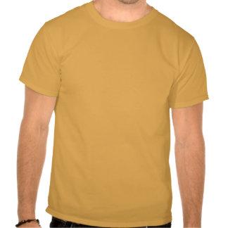T dianteiro completo da trilha básica do insular camiseta