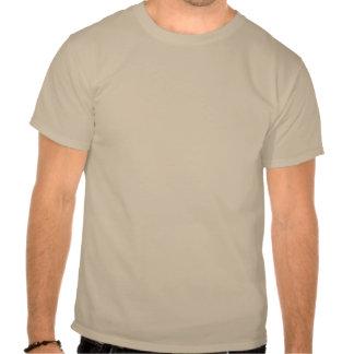 T dianteiro da trilha básica do insular/traseiro c camiseta